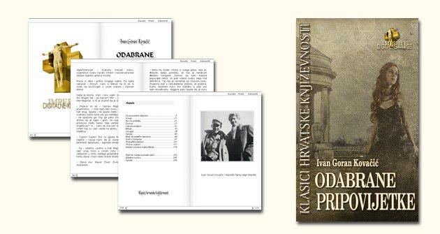 Digitalne Knjige Odabrane Pripovijesti Ivan Goran Kovacic